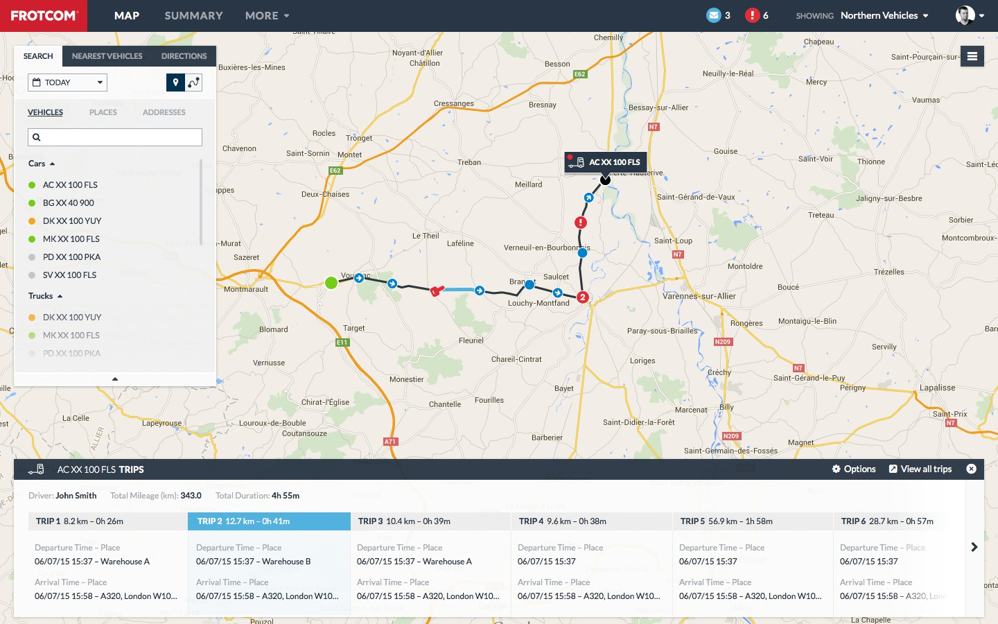gps vehicle tracking and sensor monitoring - frotcom