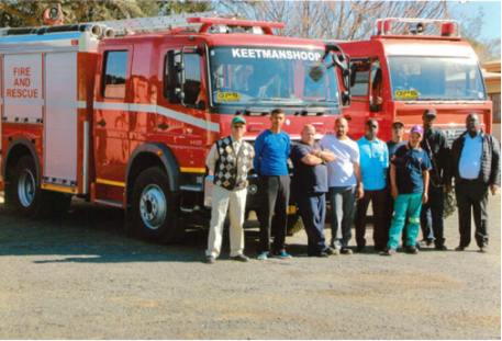 Keetmanshoop Municipality reduces unauthorized vehicle use by 95% with Frotcom - fire emergency trucks