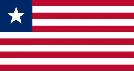Liberia's flag
