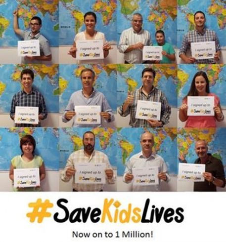 Blog - Frotcom is helping #SaveKidsLives reach the 1 million signature goal