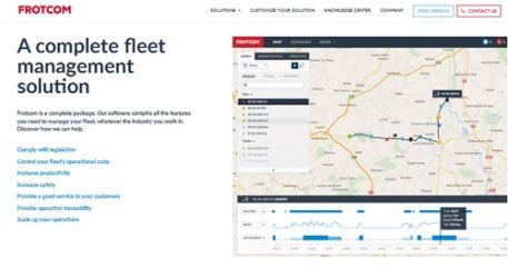 Frotcom website