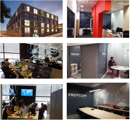 Frotcom International's new office