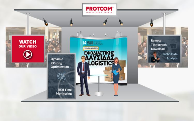 Frotcom at the 14th Conference and Exhibition of Supply Chain and Logistics