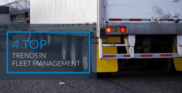 4 Top Trends in Fleet Management