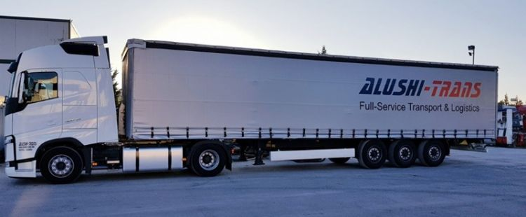 Alushi-Trans truck
