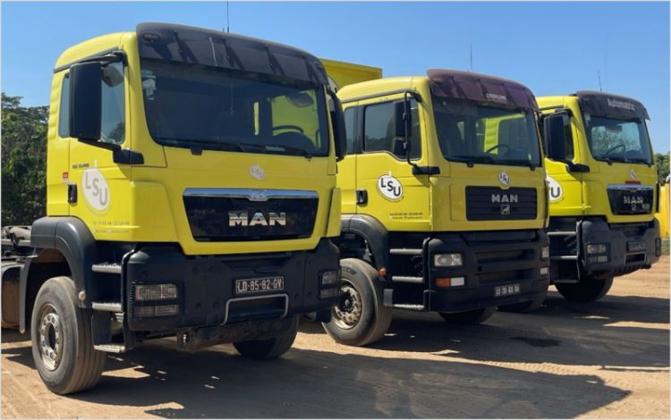 Angolan waste collection company improves transport efficiency and fuel control using Frotcom