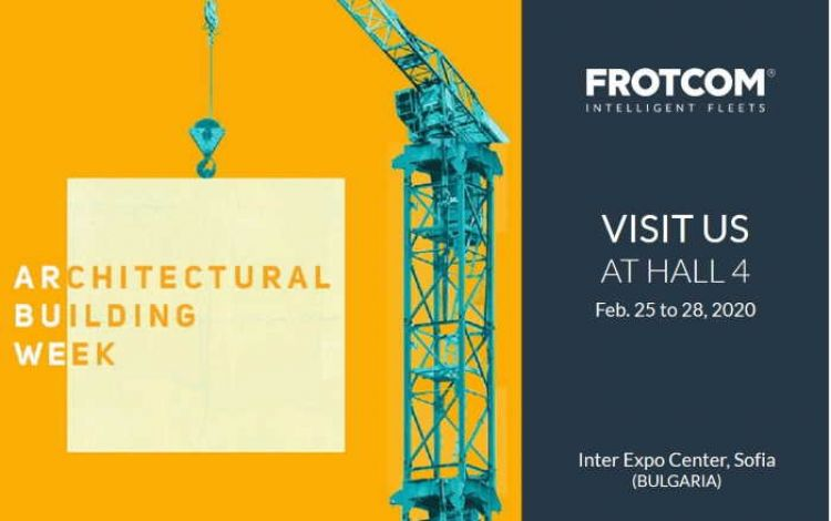 Frotcom at Architectural Building Week - Bulgaria