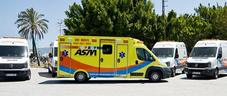 ASM ambulances