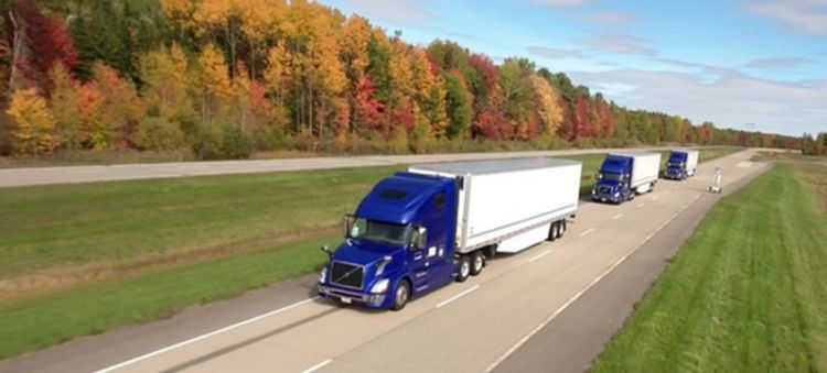 US road transport will change radically with autonomous trucks
