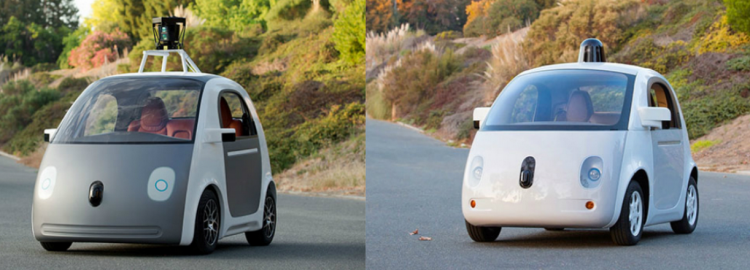 Blog - Differences google's fully functional self driving car prototype
