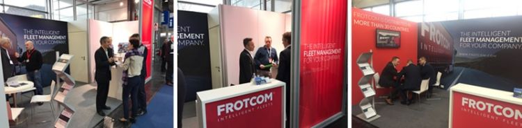 Frotcom Analytics, Advanced Scheduling and Garmin Fleet 7x0 integration take center stage at CeBIT in Hannover