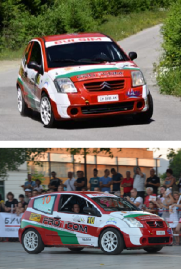 Blog - Frotcom Bulgaria supports local rally scene