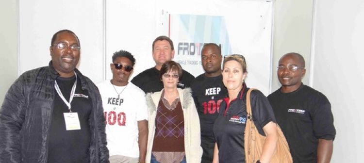 Blog - Frotcom Namibia takes center stage at the Erongo Trade Expo
