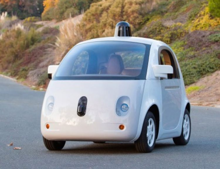 Blog - Google's first fully functional self driving car