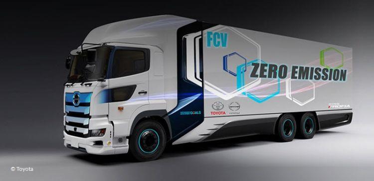 Principais fabricantes de automóveis avançam para a produção de caminhões a hidrogénio - Frotcom