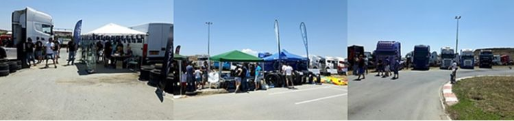 Frotcom Cyprus attends 1st ever local Truck Show