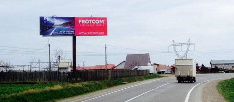 Frotcom Romania pushes Frotcom adoption through billboard campaign