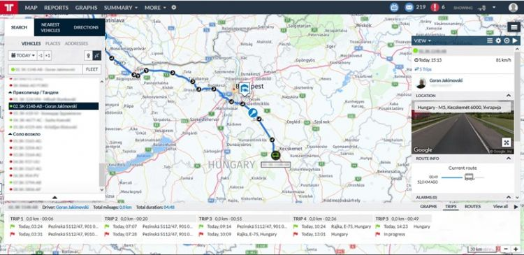 Frotcom Asset tracking