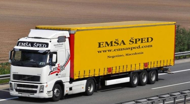 CS - EMŠA Šped reduced fuel costs by 10% using Frotcom
