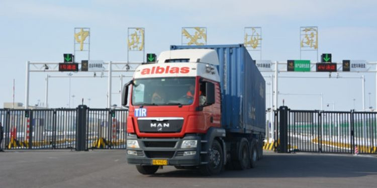 First TIR transport from Europe to China