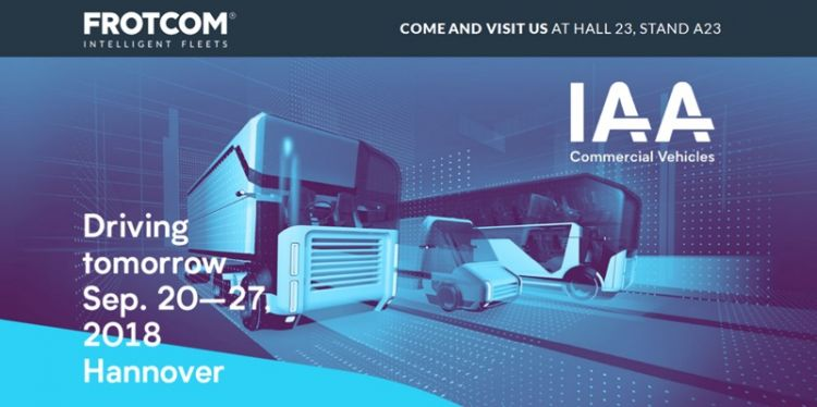Frotcom premiers new features at IAA Commercial Vehicles 2018