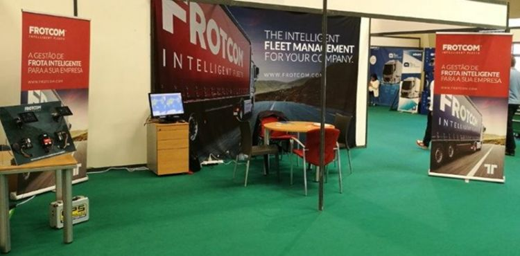 Frotcom at the II National Transport Industry Trade Show | Frotcom Lusitana