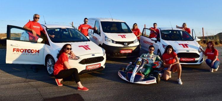 Frotcom Cyprus team