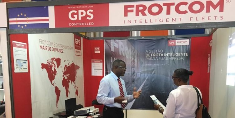 Frotcom exhibits at the Fifth ExpoAuto Motorshow in Cape Verde