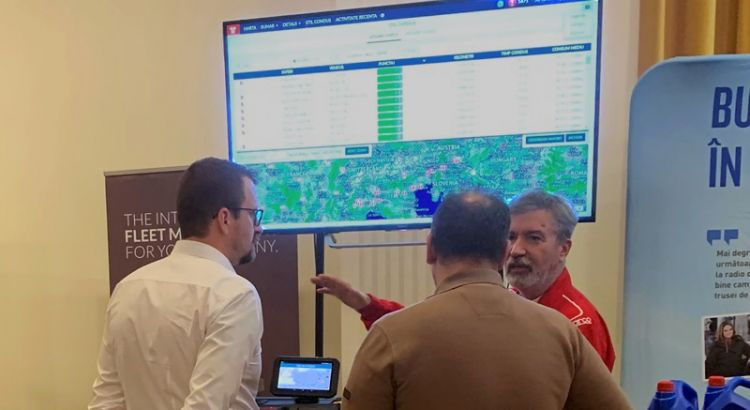 Frotcom exhibits fleet management system at Gala Tranzit 2018