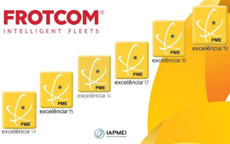 Frotcom International alcança o estatuto de PME Excelência pelo 6º ano consecutivo