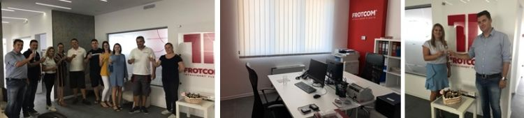 Frotcom Macedonia, working closely with business clients