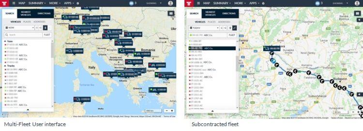 Frotcom Multi-Fleet Management