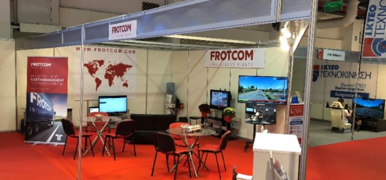 Frotcom on show at the International Transport Exhibition in Greece