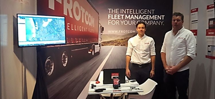 Frotcom premiers at TruckX, in Johannesburg
