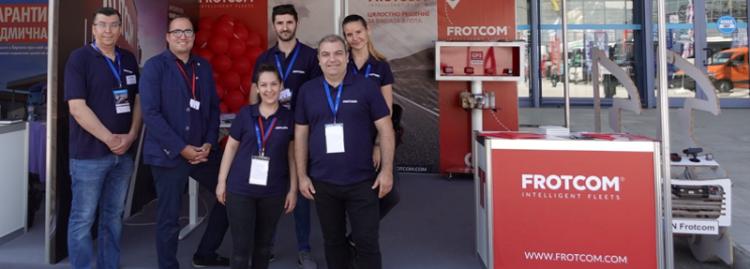 Frotcom showcases its fleet management software worldwide - Frotcom