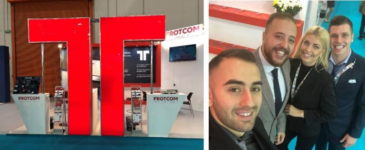 Frotcom successfully exhibited in the Cargo Truck & Van Expo 2019