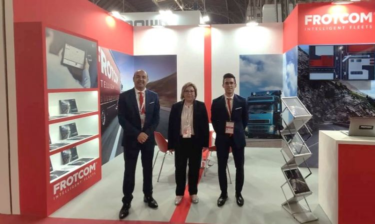 Frotcom unveils advanced fleet management system at SIL 2019