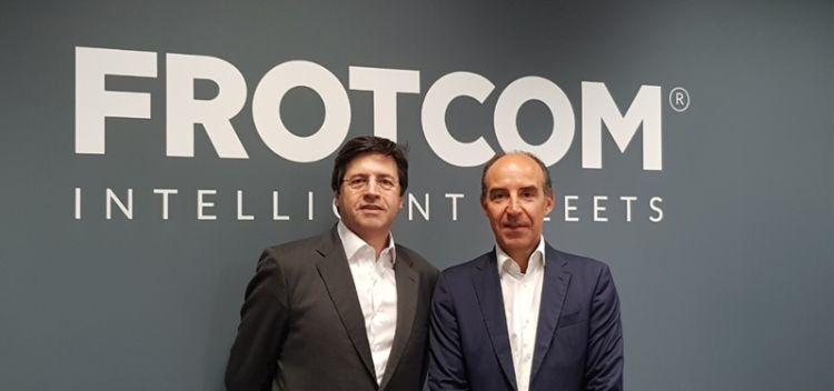 Valério Marques, CEO of Frotcom Internaitonal and João Arantes e Oliveira, Founding Partner of HCapital.