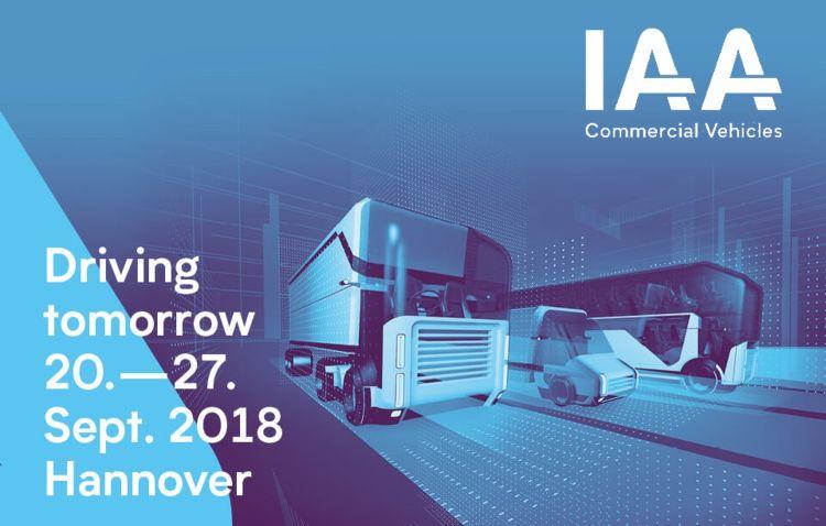 Frotcom intelligent fleets at IAA 2018