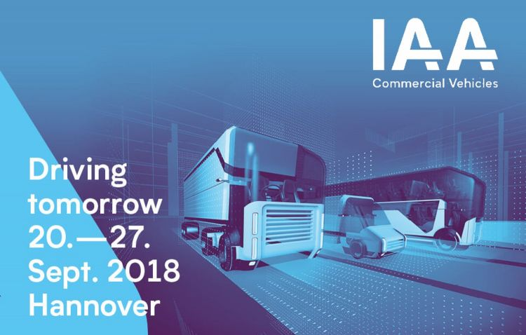 Frotcom intelligent fleets at IAA 2018