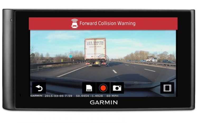 Garmin Dash Camera integration in Frotcom