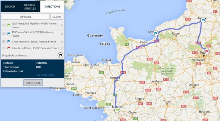 Reduce your fleet costs with route planning and monitoring - Frotcom