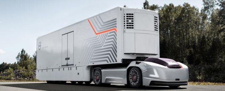 Vera, the autonomous truck concept from Volvo