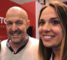 Frotcom caught the attention of a magician and TV celebrity at Transpotec Logitec 2017
