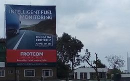 Frotcom East Africa's eye-catching new outdoor