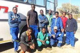 Emangweni Transport staff