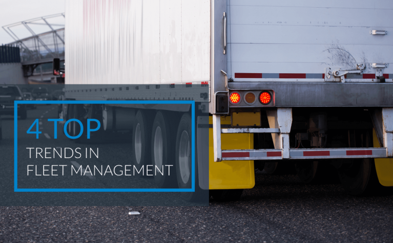 4 Top Trends in Fleet Management
