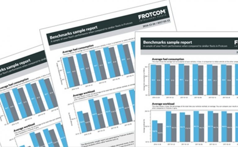 Benchmark sample reports for a better fleet performance