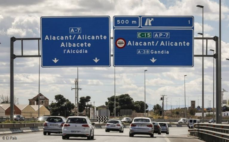 Spanish government to remove road tolls