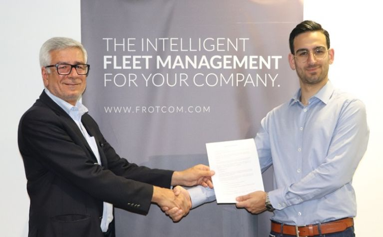 Constantinos Christodoulides signs a new sponsorship agreement with Frotcom